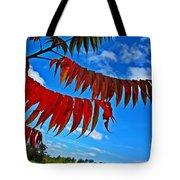 Sumac Red Tote Bag