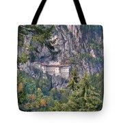 Sumela Monastery In Black Sea Region Of Turkey Tote Bag