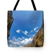 Sumidero Canyon Sky Tote Bag