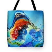 Summer - A Hot Day At The Beach Tote Bag