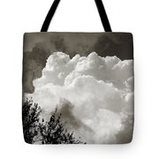 Summer Afternoon Cloudscape Tote Bag