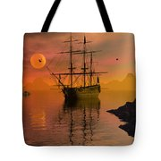 Summer Anchorage Tote Bag