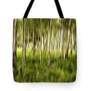 Summer Aspens Tote Bag