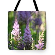 Summer Astilbe Tote Bag