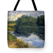 Summer At Jackson Lake Tote Bag