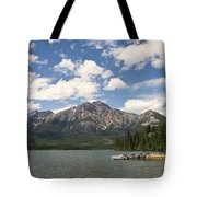 Summer At Pyramid Lake Tote Bag