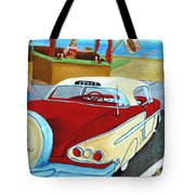 Cruising The Beach Tote Bag