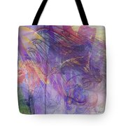 Summer Awakes - Square Version Tote Bag