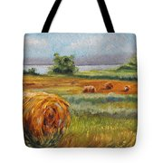 Summer Bales Tote Bag