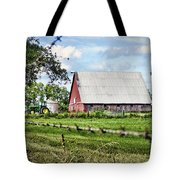 Summer Barn Tote Bag by Cricket Hackmann