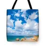 Summer Beach Algarve Portugal Tote Bag