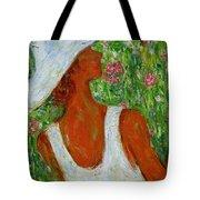 Summer Blush Tote Bag by Xueling Zou