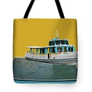 Summer Boat Ride 02 Walt Disney World Tote Bag
