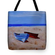 Summer Boats Tote Bag