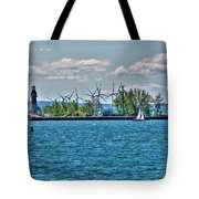 Summer Breeze From Lasalle Park Tote Bag