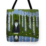 Summer Cat Tote Bag