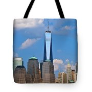 Summer Cityscape Nyc  Tote Bag