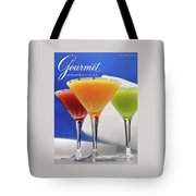 Summer Cocktails Tote Bag by Romulo Yanes