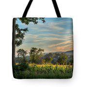 Summer Corn Square Tote Bag by Bill Wakeley
