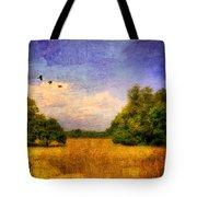 Summer Country Landscape Tote Bag
