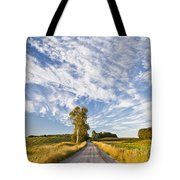 Summer Country Road Tote Bag