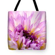 Summer Dahlia Tote Bag