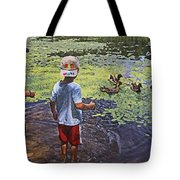 Summer Day At The Pond Tote Bag