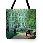 Summer Day Boston Public Garden Tote Bag