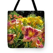 Summer Daylilies Tote Bag