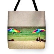 Summer Days At The Beach Tote Bag by Scott Pellegrin