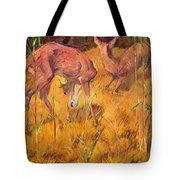 Summer Deer Tote Bag