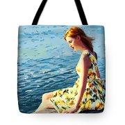 Summer Eve Tote Bag