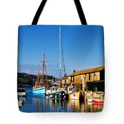 Summer Evening At The Harbour Tote Bag
