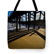 Summer Evening In Seal Beach Tote Bag