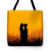 Summer Evening Love Tote Bag