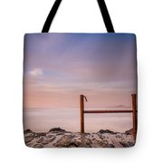 Summer Evening On North Jetty Tote Bag