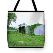 Summer Farm Sheds Tote Bag