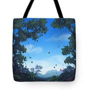 Summer Fields Tote Bag by Cassiopeia Art