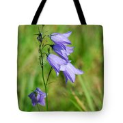 Summer Flowering Harebell Tote Bag