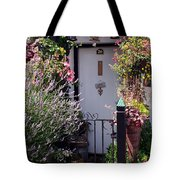 Summer Flowers Clovelly Devon Tote Bag