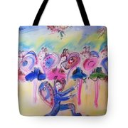 Summer Flutter Tote Bag