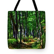 Summer Forest In Ohio Tote Bag