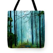 Summer Forest - Palette Knife Oil Painting On Canvas By Leonid Afremov Tote Bag