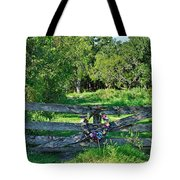Summer Gate Tote Bag