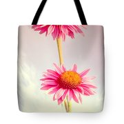 Summer Impressions Cone Flowers Tote Bag