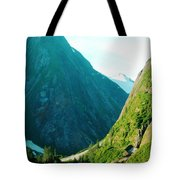 Summer In Alaska Tote Bag