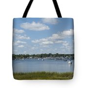 Summer In New England Tote Bag