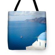 Summer In Santorini - Greece Tote Bag