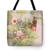 Summer In Sundborn Tote Bag by Carl Larsson