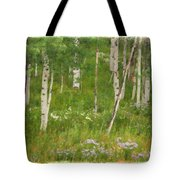 Summer In The Colorado Mountains Tote Bag